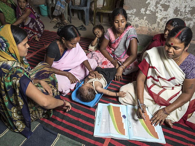 Social change through social enterprise: Community women produce Sanitary Napkin