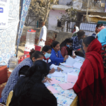 Mega Health Camp in Resettlement Colony