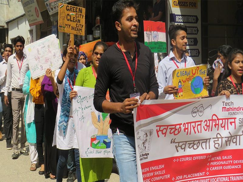 Rally Swachh Bharat Abhiyan